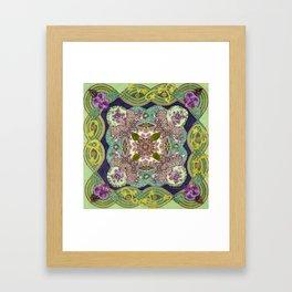 Intricate Garden Framed Art Print