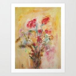 Sensual flowers 2 Art Print