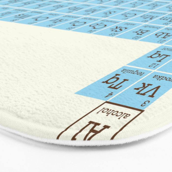 Tasty Table Bath Mat