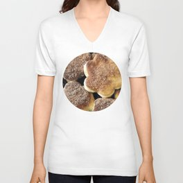 Crullers / Pictures of My Life Unisex V-Neck