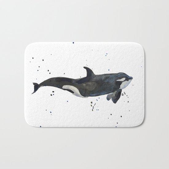 Oh Whale Bath Mat