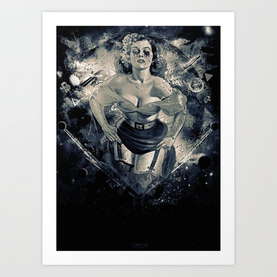 Space Breaker Art Print