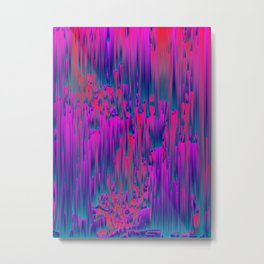 Lucid - Pixel Art Metal Print