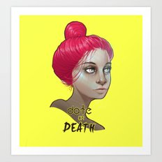 date or death Art Print