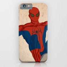 spiderman, spiderman does whatever a spider can iPhone 6s Slim Case