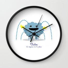 Tlaloc - Le seigneur de la pluie (Lil Gods) Wall Clock