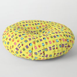 12 Unsatisfied Customers - Hello Yellow Floor Pillow