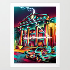 Hill Valley Art Print