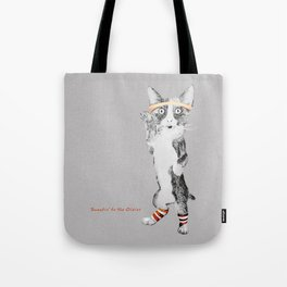 Sweatin' to the Oldies Tote Bag