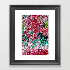 Psychedelic Jungle Framed Art Print