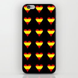 Flag of spain 5-spain,espana, spanish,plus ultra,espanol,Castellano,Madrid,Barcelona iPhone Skin