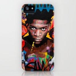 Jean-Michel Basquiat ART iPhone Case