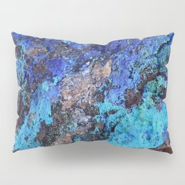 Malachite Mineral Stone rustic decor Pillow Sham