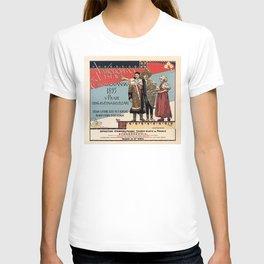 Czechoslav ethnographic exposition vintage ad T-shirt