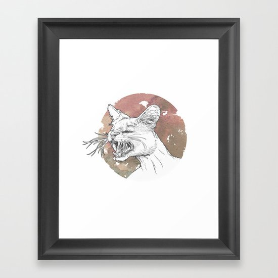 Bastet Unrequited Framed Art Print