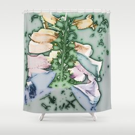 Foxgloves. Shower Curtain
