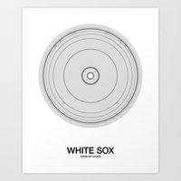 Chicago Sox rings Art Print