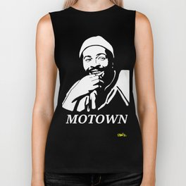 "Marvin Gaye ""Prince of Motown"" Biker Tank"