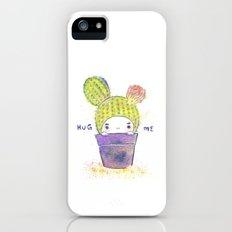 the secret wish of a cactus iPhone (5, 5s) Slim Case