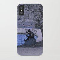 fishing iPhone & iPod Cases featuring Fishing by Anthony M. Davis