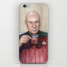 Captain Picard Earl Grey Tea | Star Trek Painting iPhone & iPod Skin