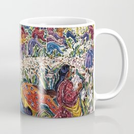 Lor Blanc White Gold by Inji Efflatoun Coffee Mug