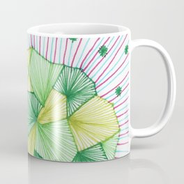 Abstract microscope element Coffee Mug
