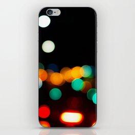 Blurred City Lights iPhone Skin
