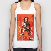 western Tank Tops featuring Western by Tom Ryan