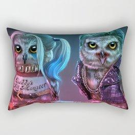 Owly Quinn and Puddin' Rectangular Pillow