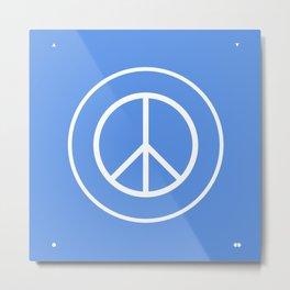 WORLD PEACE Metal Print