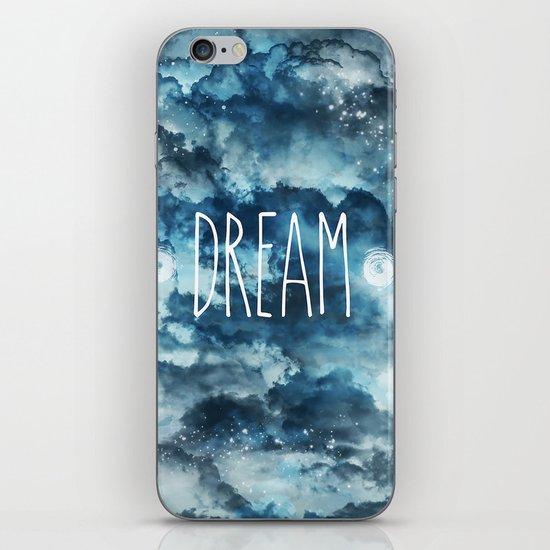 Dream in Blue iPhone & iPod Skin