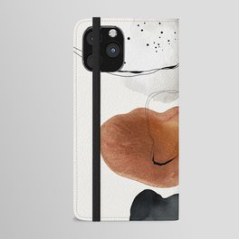 Abstract World iPhone Wallet Case
