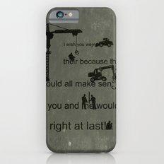 Misspelled  Slim Case iPhone 6s