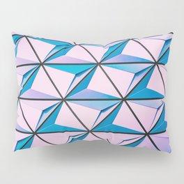 Pattern blue purple Pillow Sham