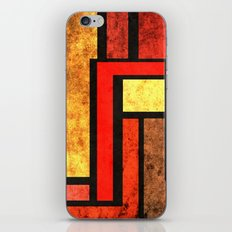 Red Yellow Orange iPhone & iPod Skin