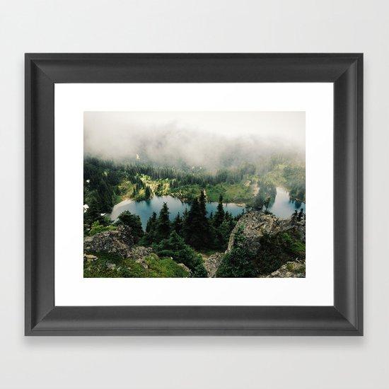 Rainier Eunice Lake Framed Art Print