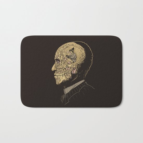 Why zombies want brains Bath Mat