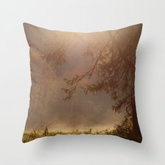 Peaceful Moments Throw Pillow