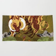 The Last Unicorn Beach Towel