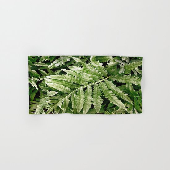 Lush Ferns Hand & Bath Towel