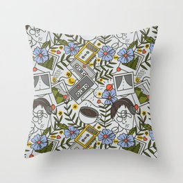All the Reasons Why | Mixtape Art Throw Pillow