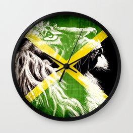 King Of Jamaica Wall Clock