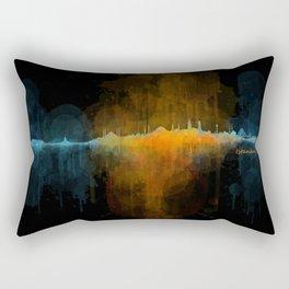 Istanbul City Skyline Hq v4 Rectangular Pillow
