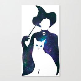 Minerva and Cat Canvas Print
