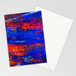 (N10) Abstract Epic Colored Moroccan Artwork. Stationery Cards