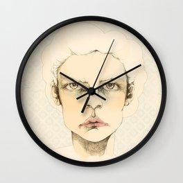 """portrait of anybody"" Wall Clock"