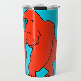 The Orange Gorilla Travel Mug