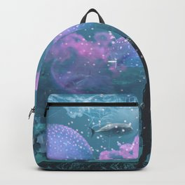 Cosmic Life in Aquarium Backpack