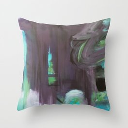 August Warmth Throw Pillow